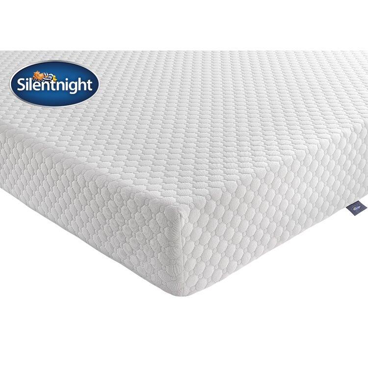 Mattress silentnight 7 zone memory foam King size