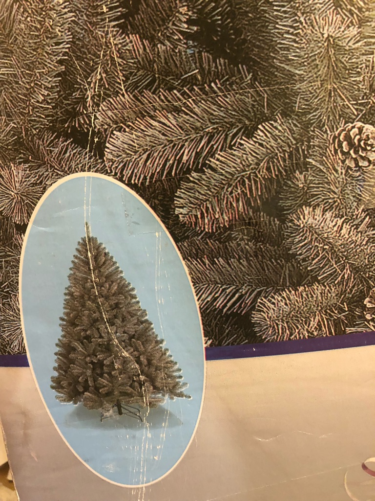 6.5ft Christmas tree used but excellent quality
