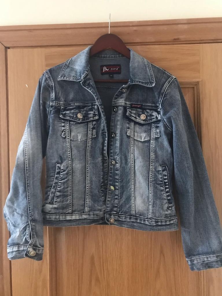 Women's denim jacket size M