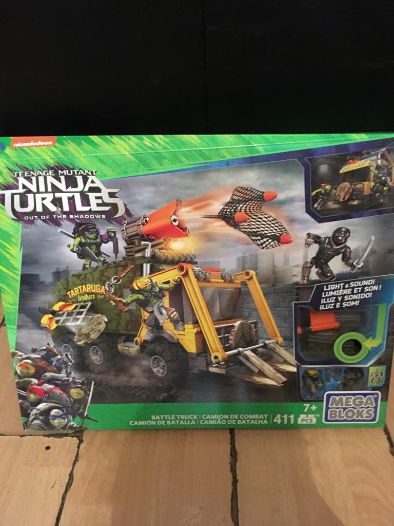 Ninja Turtles Lego Mega Bloks