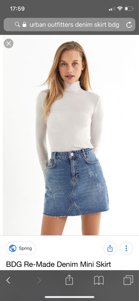 URBAN OUTFITTERS BRAND NEW SKIRT