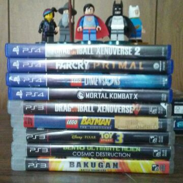 PlayStation 4 & 3 Games