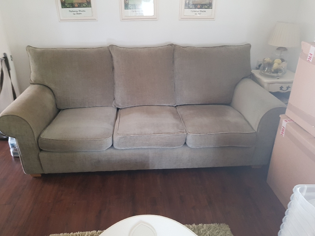Collins and Hayes 4 seater sofa