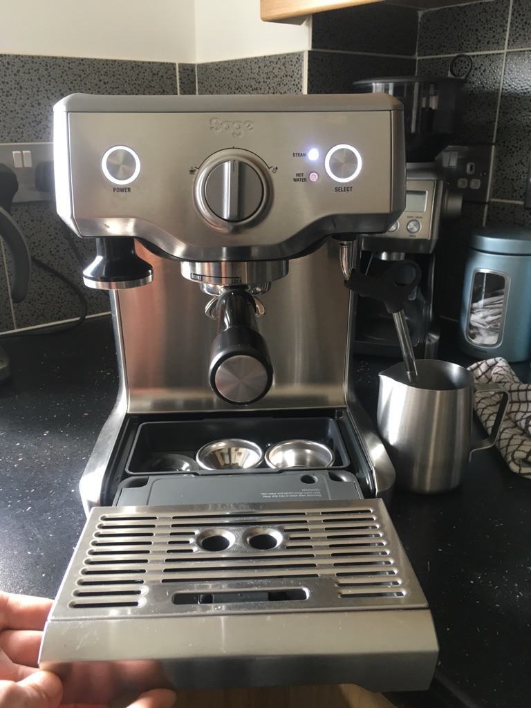 Sage Duo Temp Pro Coffee Machine By Heston Blumenthal