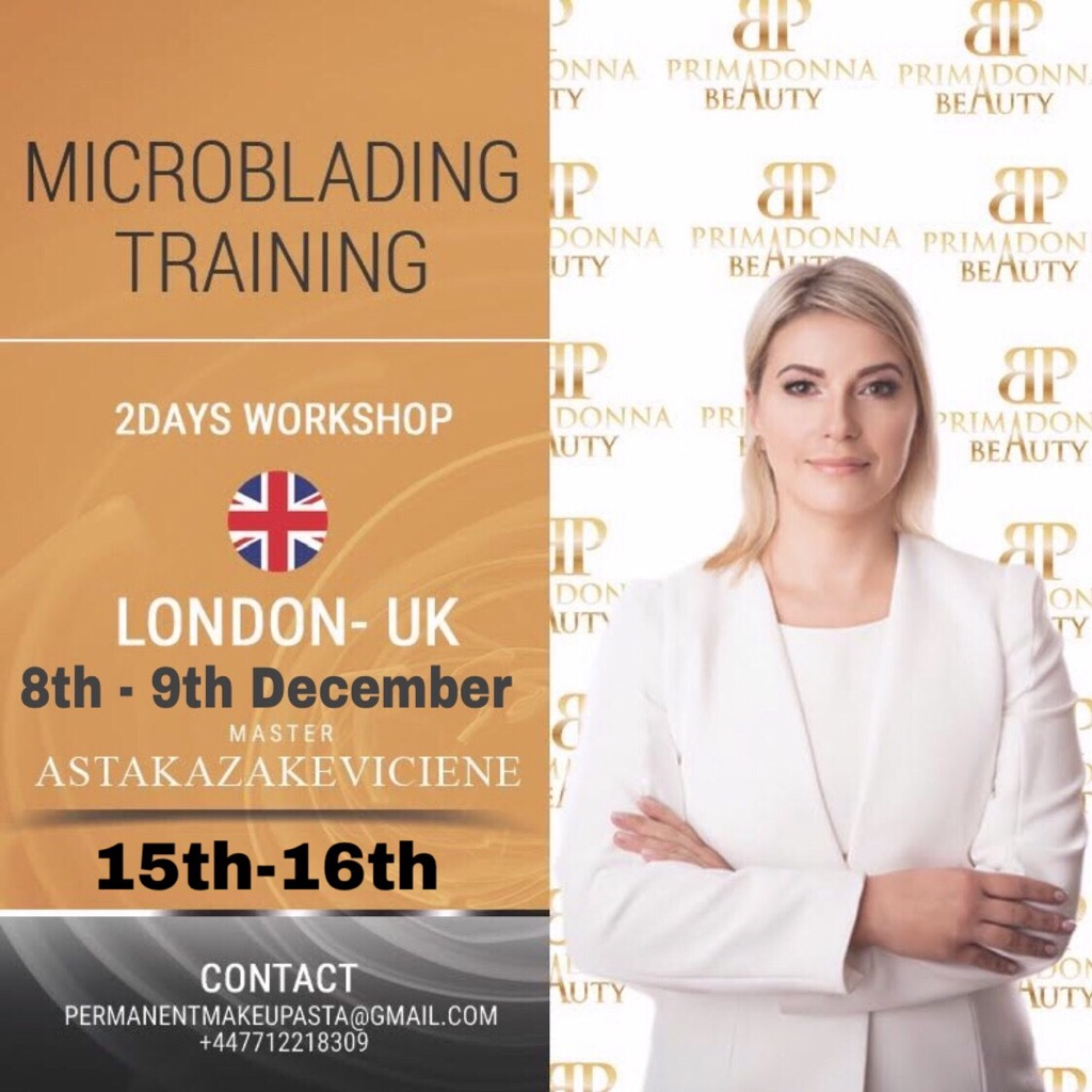 Basic Microblading Training in London
