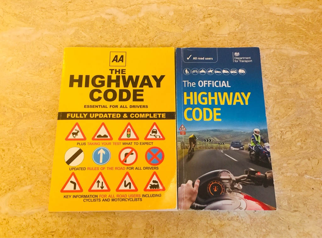 Official Highway Code theory books