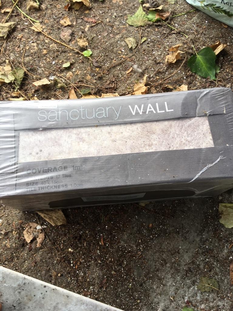 Home base wall tiles