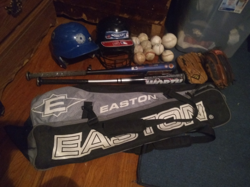 Youth baseball kit