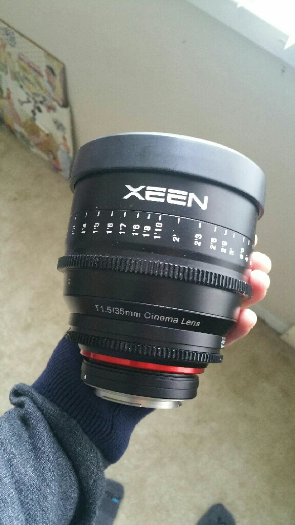 XEEN 35MM CINEMA LENS