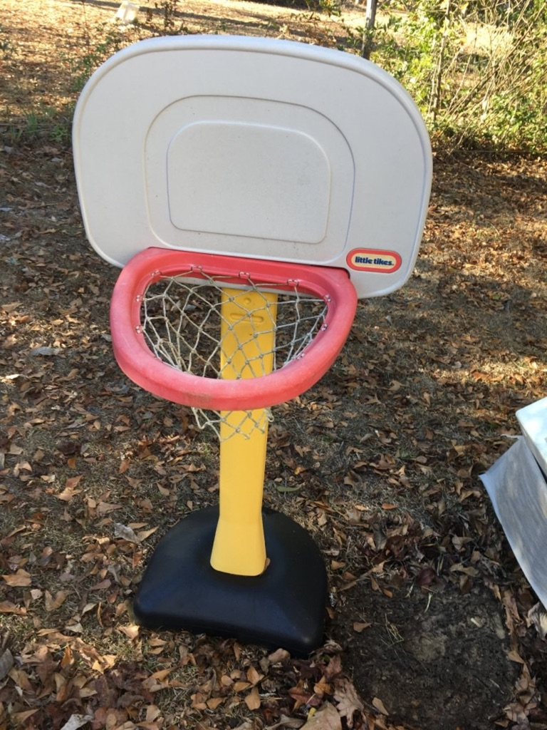 Little tikes basketball hoop
