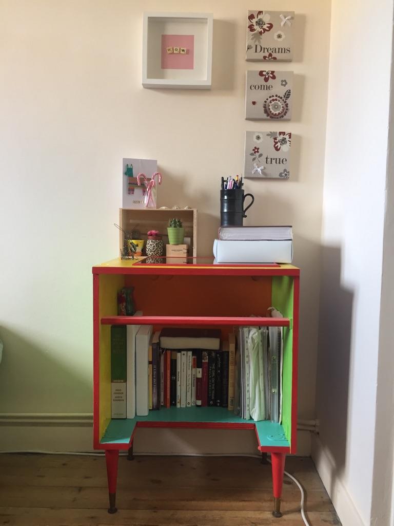 Coloured Wooden Desk