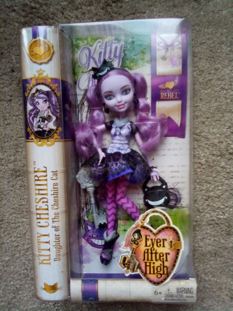 """New Kitty Cheshire """"Ever After High"""" doll"""
