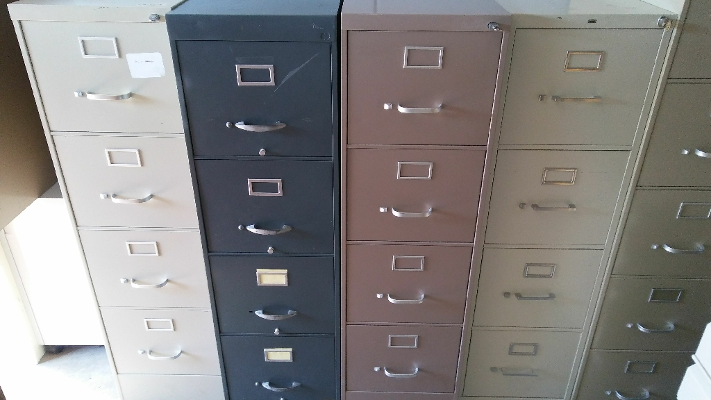 File cabinets with key
