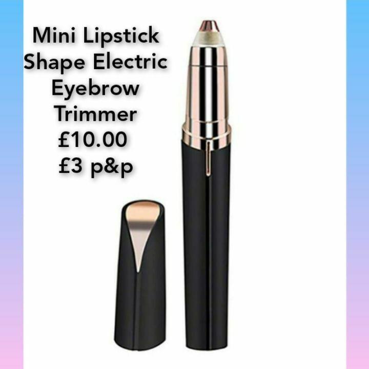 Mini Lipstick Shape Electric Eyebrow Trimmer💥