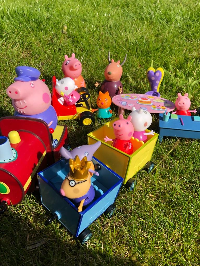 Kids toys pepa pig
