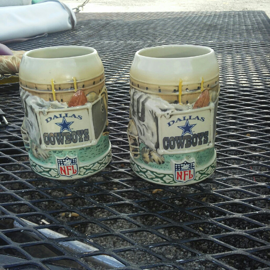 Dallas Cowboys Ceramic mugs