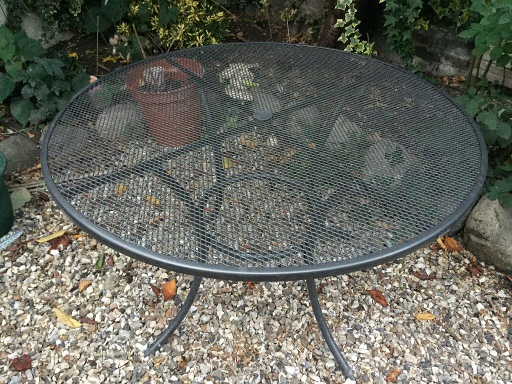 John Lewis Henley by Kettler 4 seater garden table