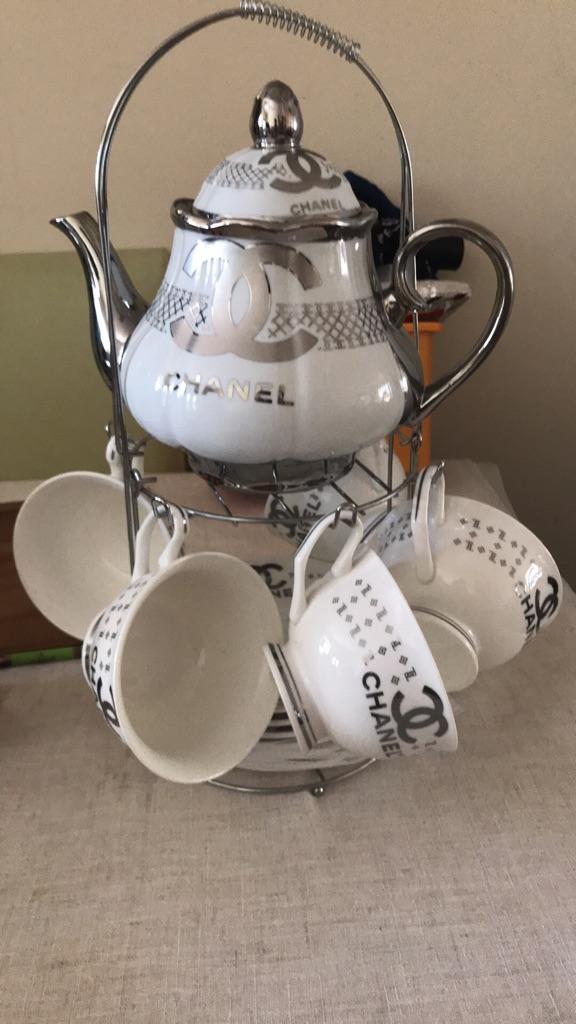 Chanel tea set