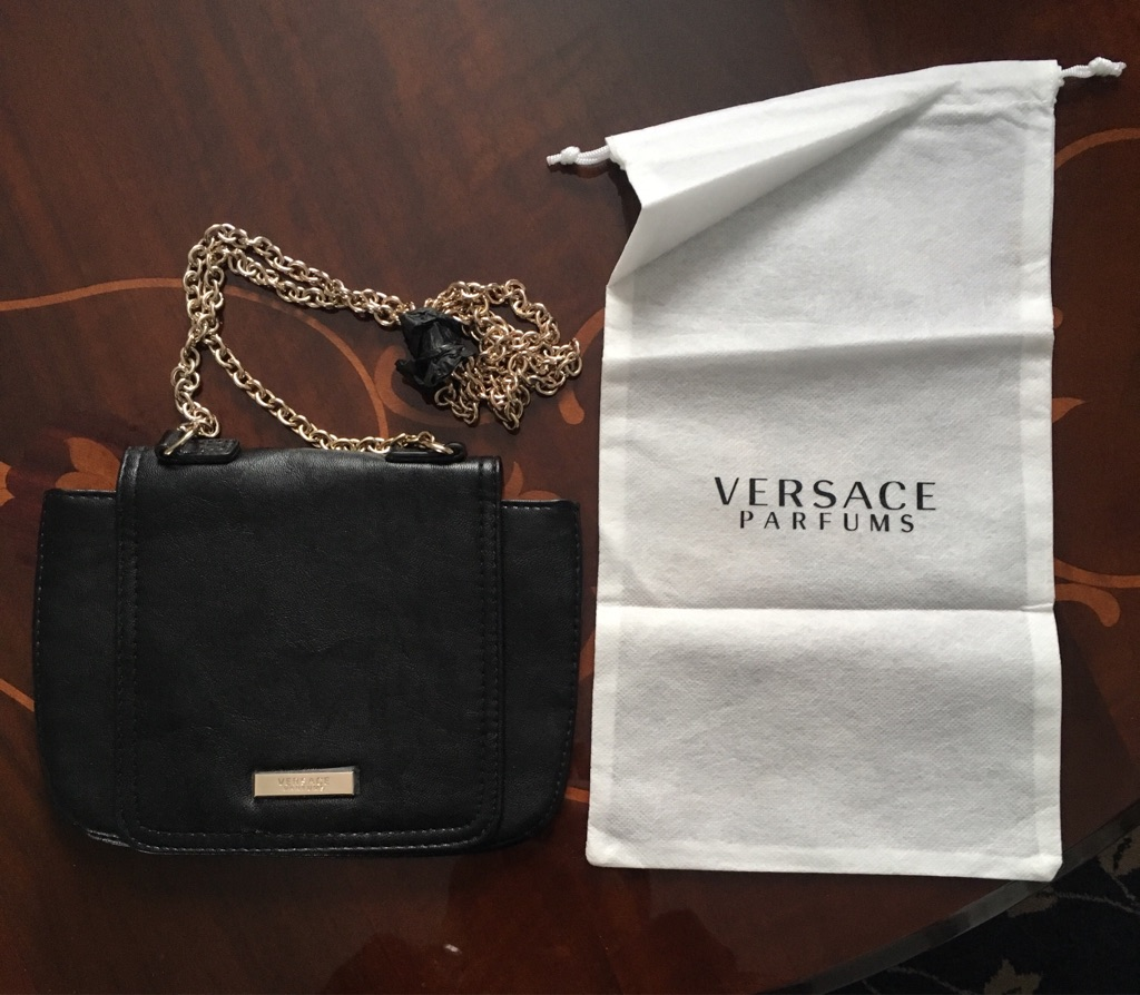 Versace Designer Clutch Bag