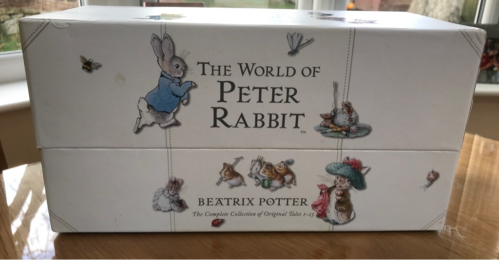 Peter Rabbit complete novel box set
