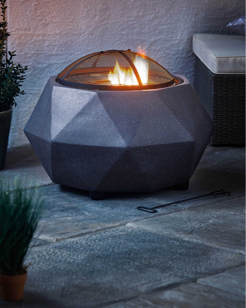Faux Stone Firepit Brand New