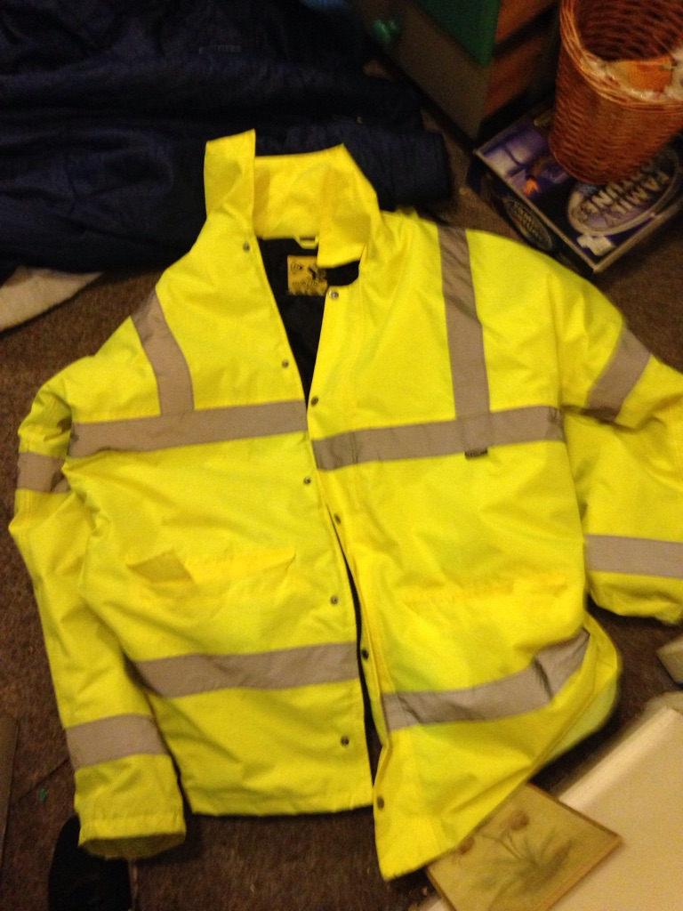 Brand new xL Dunlop high vis coat