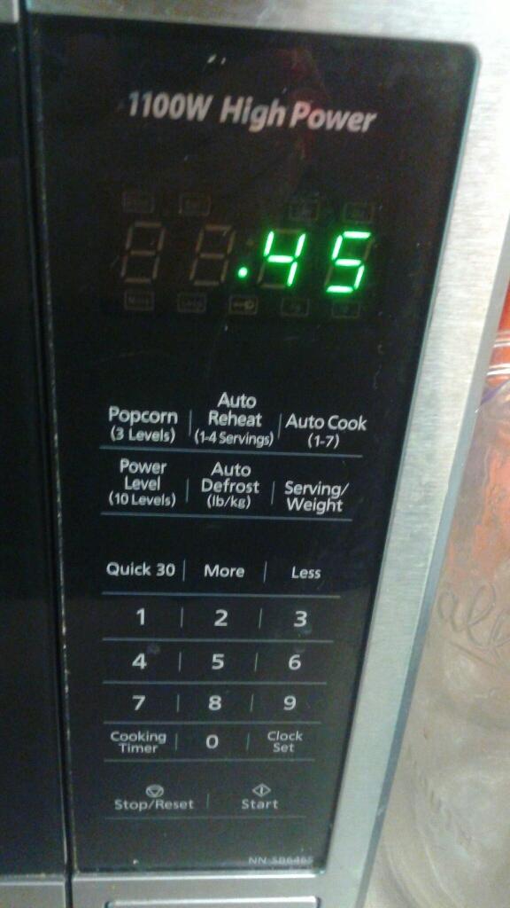 Panasonic Microwave 1100W