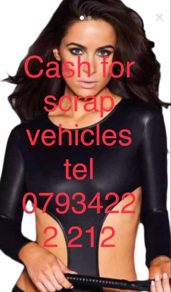 Cash for scrap cars in Huddersfield