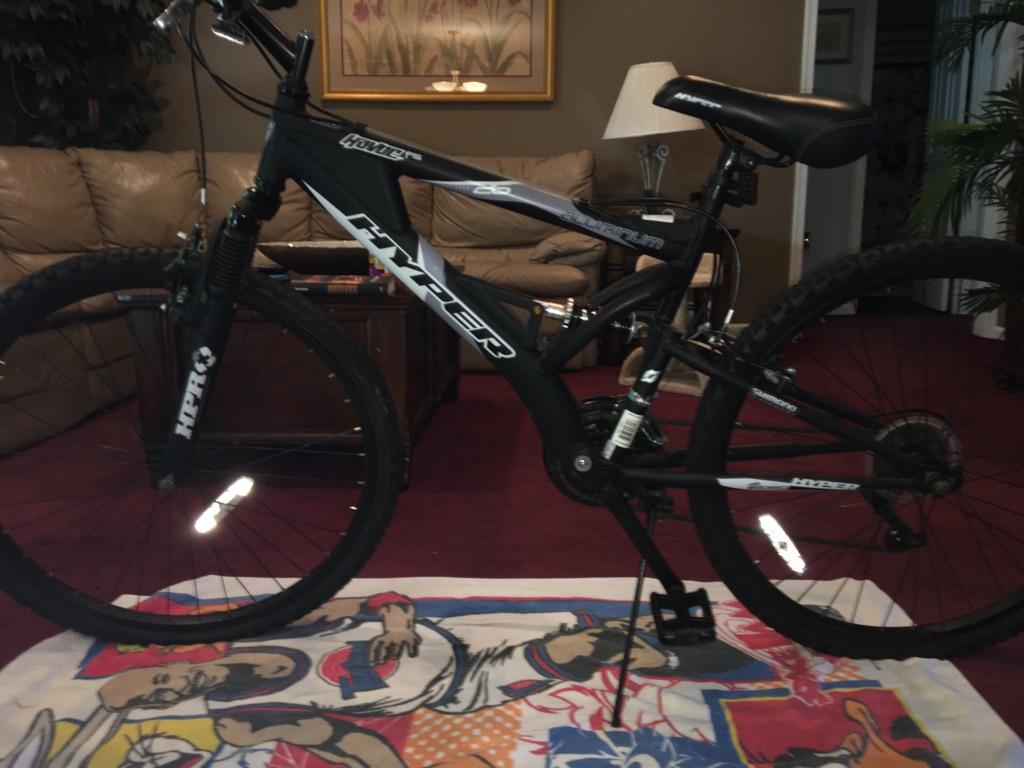 Hyper aluminum mountain bike