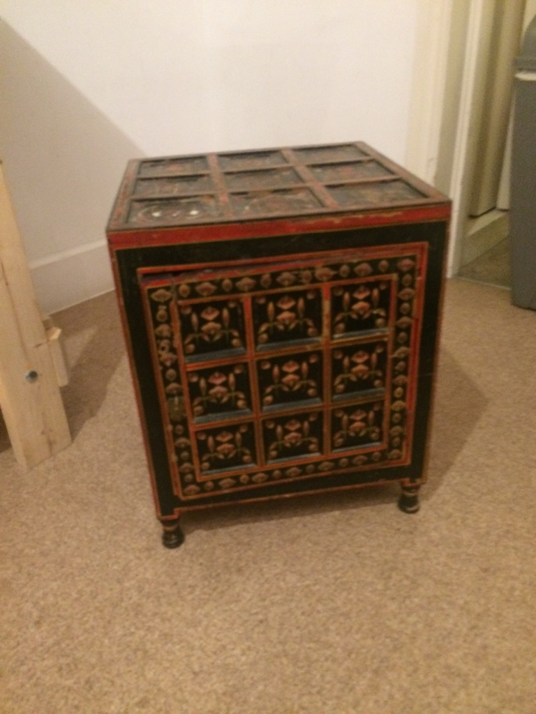 Antique Chinese bedside table