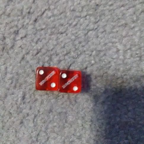 Collectible Winchester dice