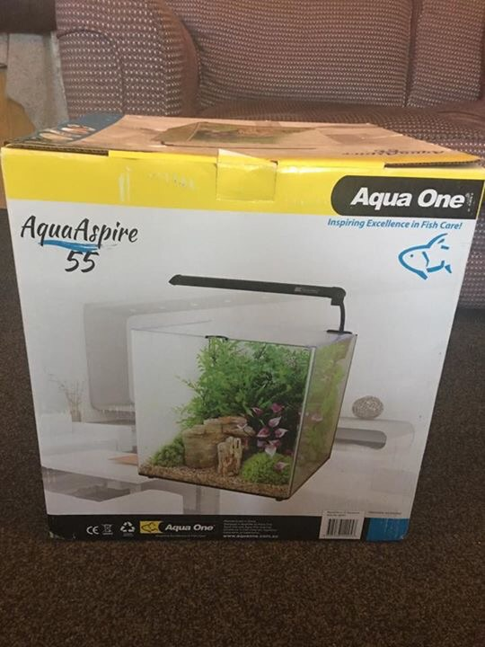 Brand new in box fishtank