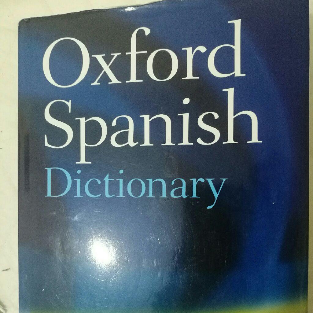 Oxford spanish english dictionary