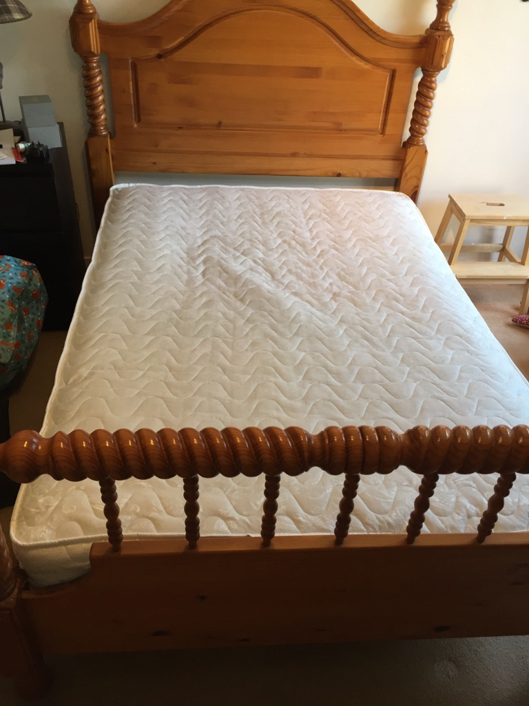 Decorative double bed