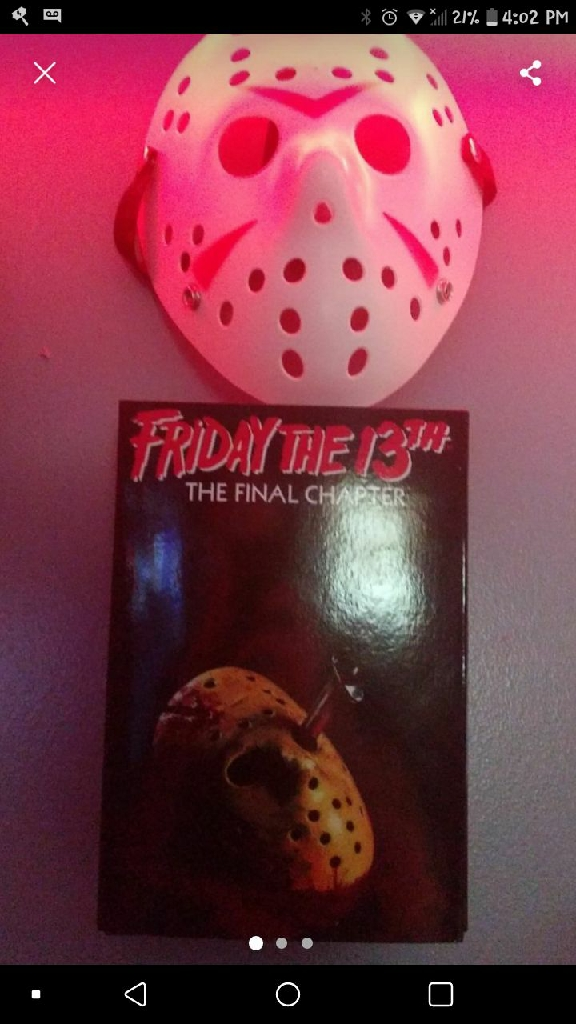Friday the 13th fig&mask