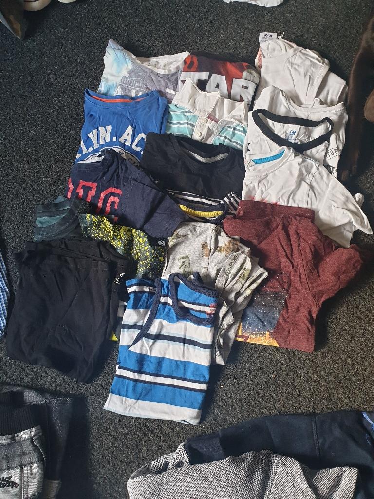 Boys aged 7-8 clothes bundle