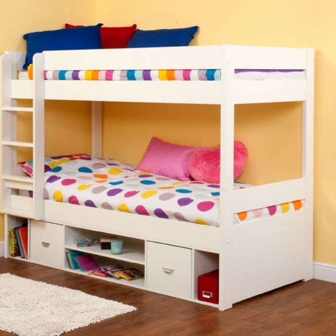 Stompa bunk bed with storage