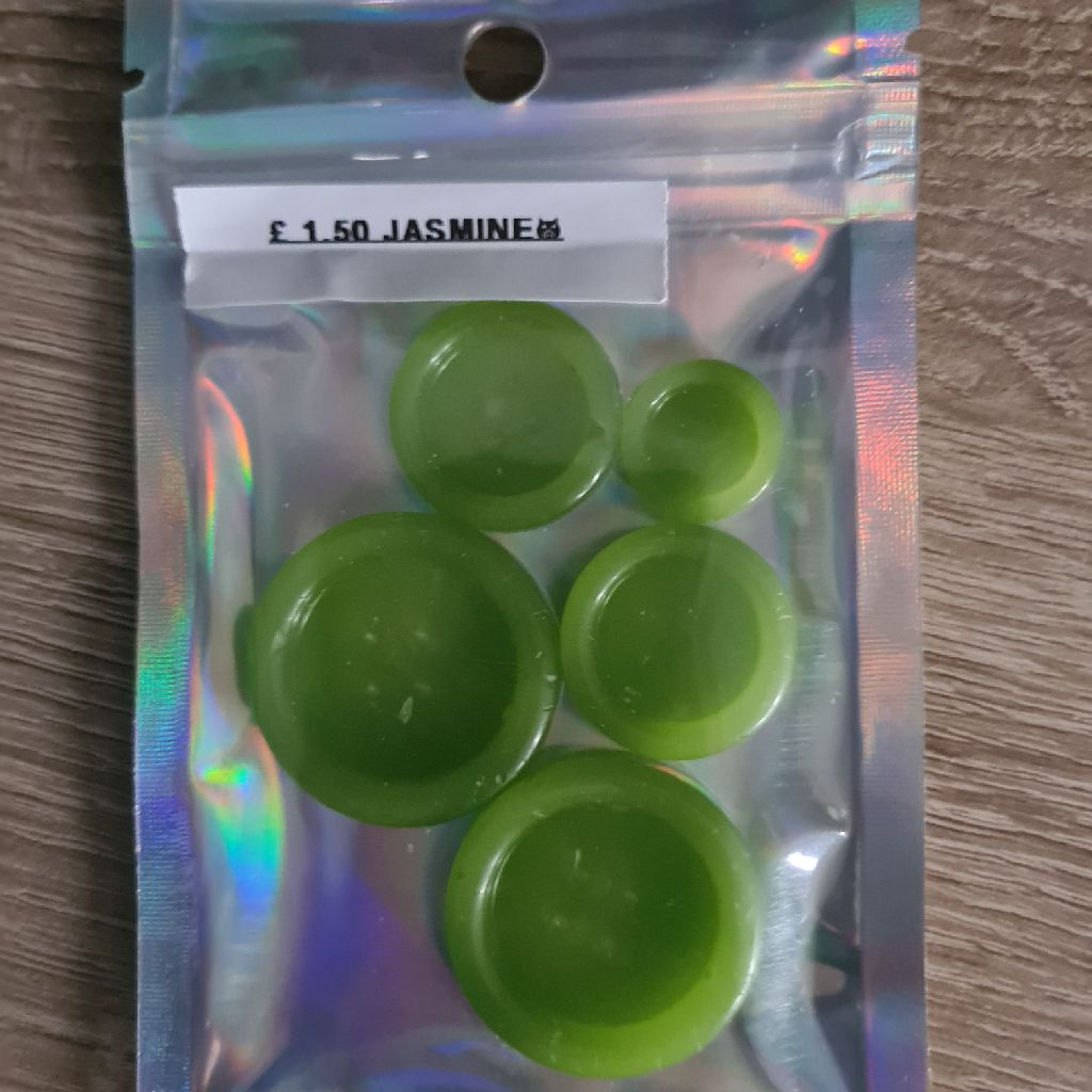 Jasmine wax melts.