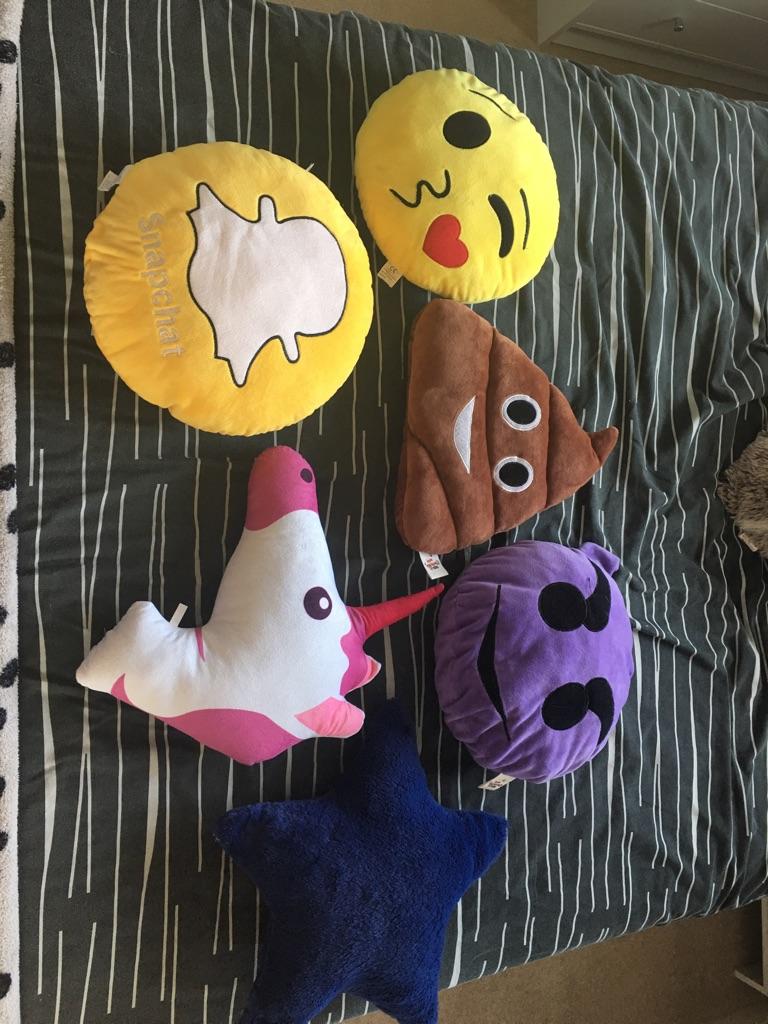 Assorted Emoji Cushions