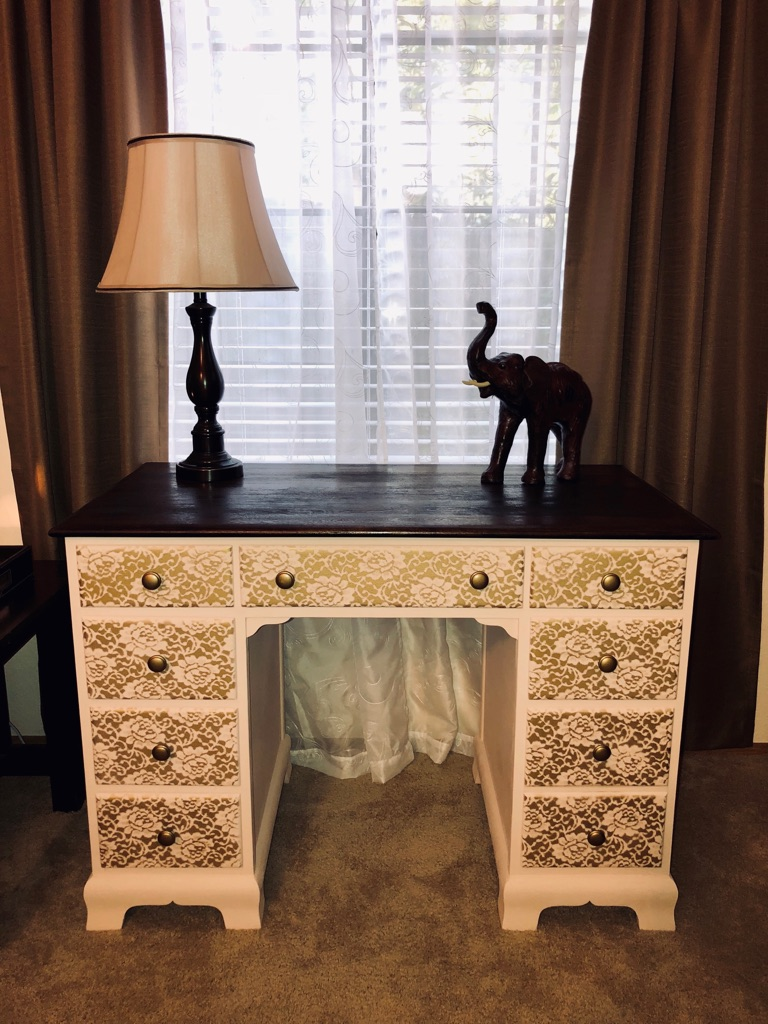 Elegantly Refurbished Vanity / Desk