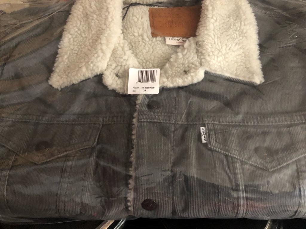Levi's trucker cord jacket