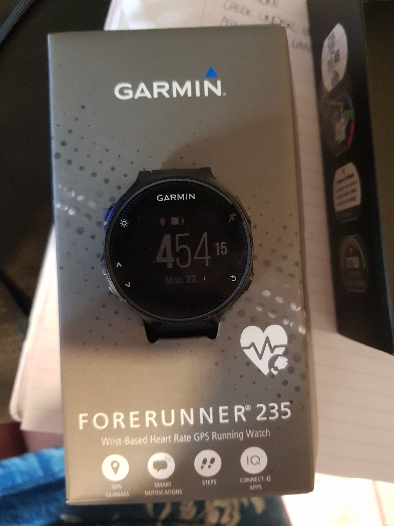 Garmin 235 running watch