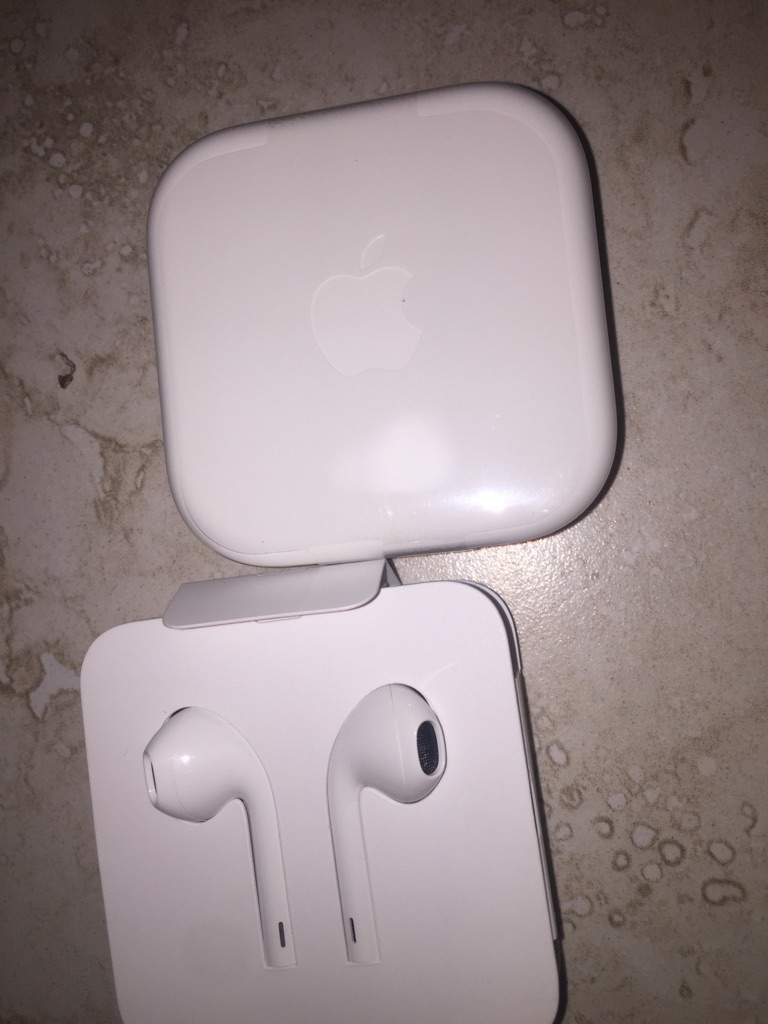 Apple wired headphones