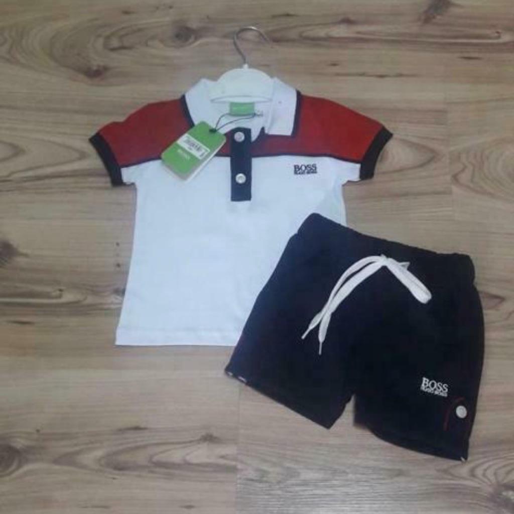Brand new children's Hugo Boss T-Shirt and shorts