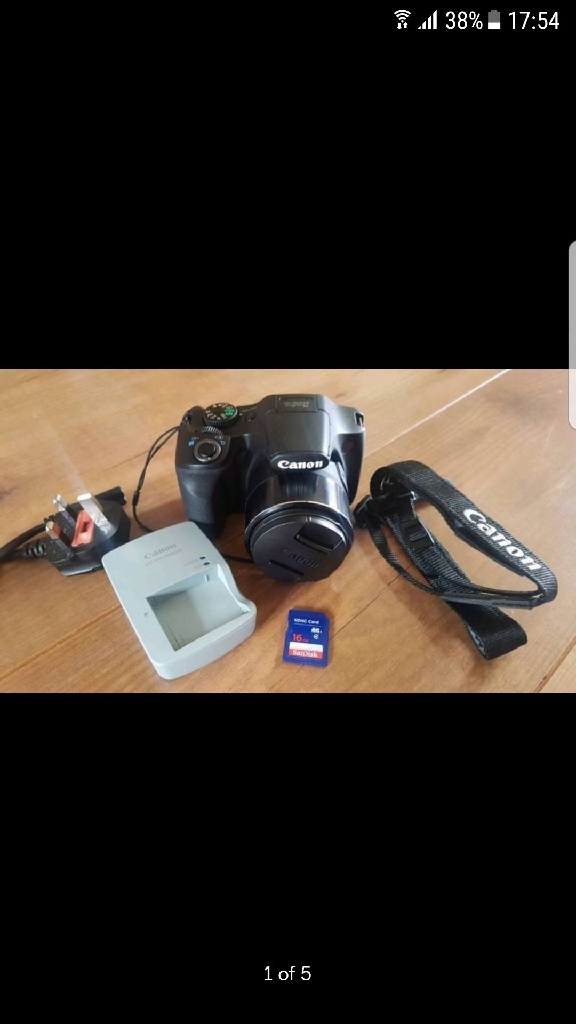 Canon SX530 HS Camera **Immaculate Condition**