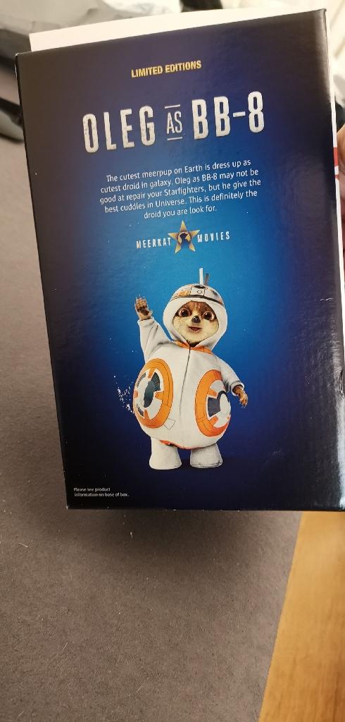 Oleg bb8 meerkat toy