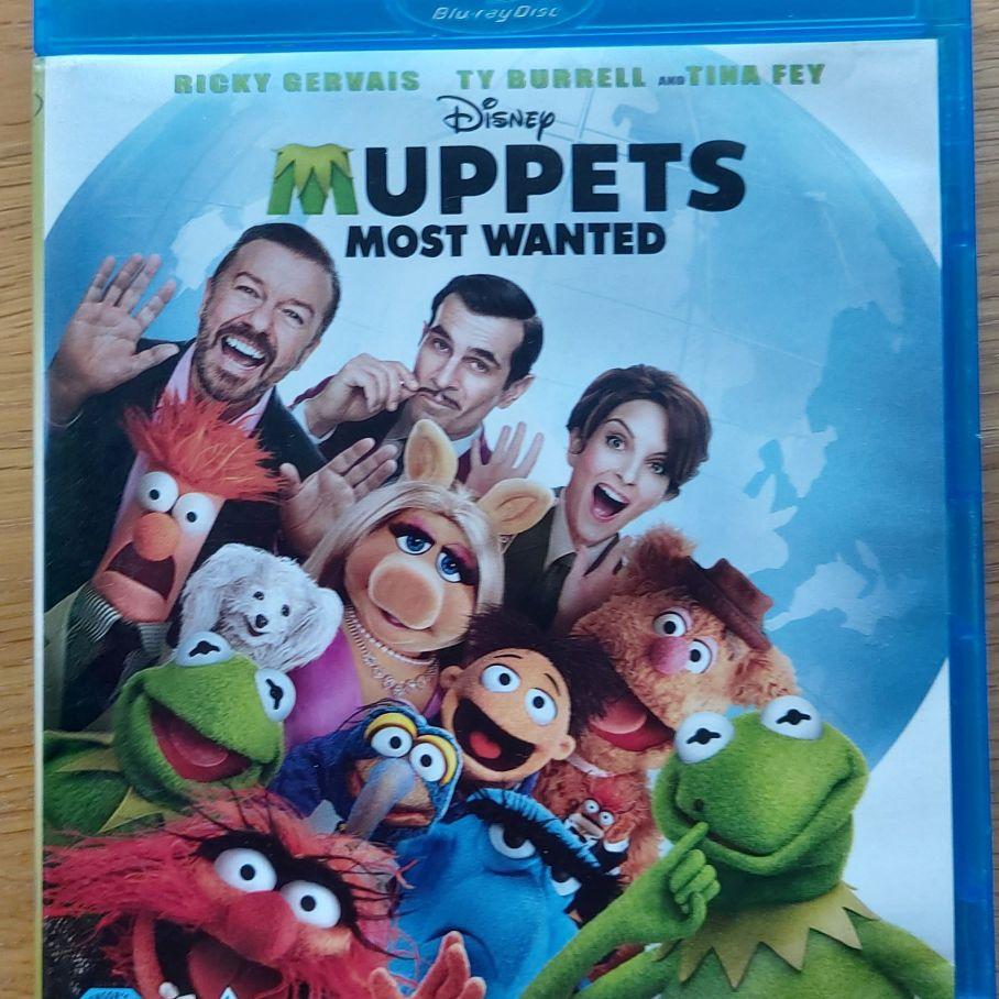 Muppets most wanted blu ray