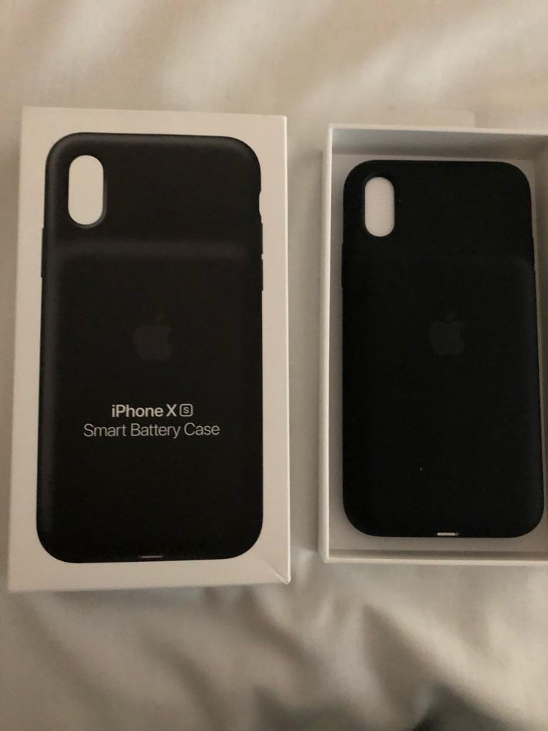 Iphone xs Smart Batterry Case Black color