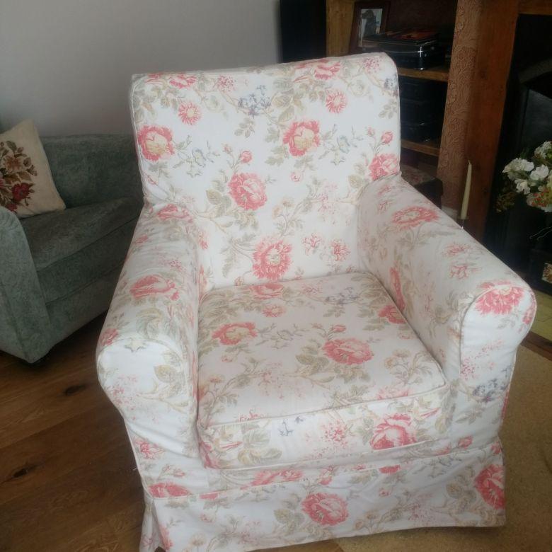 Pair of Ikea Jennylund armchairs