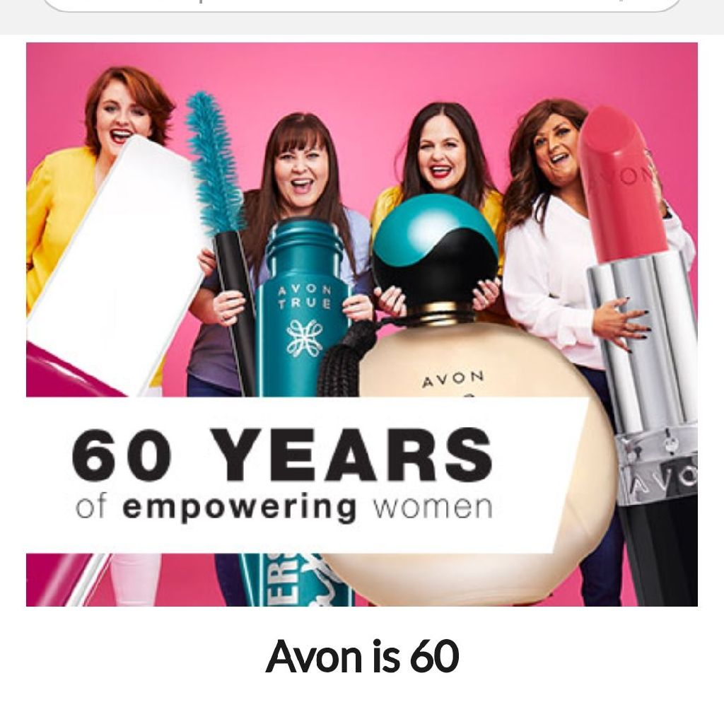 AVON HAS BEEN EMPOWERING WOMEN FOR 60 YEARS, SO SHOP ONLINE FOR EXCLUSIVE DISCOUNTS 💅💄🎁